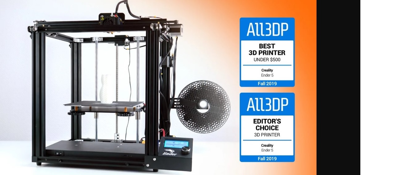 Recenzja Creality Ender 5: najlepsza drukarka 3D poniżej 500 USD 2019 roku