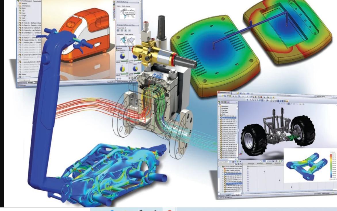 Solidworks vs Solid Edge - porównanie oprogramowania CAD