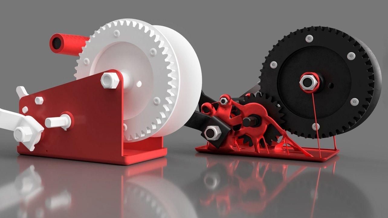 Najlepsze strony z modelami dla drukowanych w 3D narzędzi i części mechanicznych