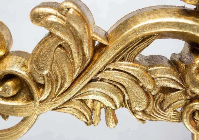 Drukowana w 3D barokowa rama zmienia współczesny obraz w XVII-wieczne arcydzieło