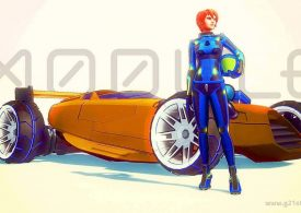 Gra wideo Xmodule: Zbuduj własny samochód wyścigowy, który można wydrukować w 3D