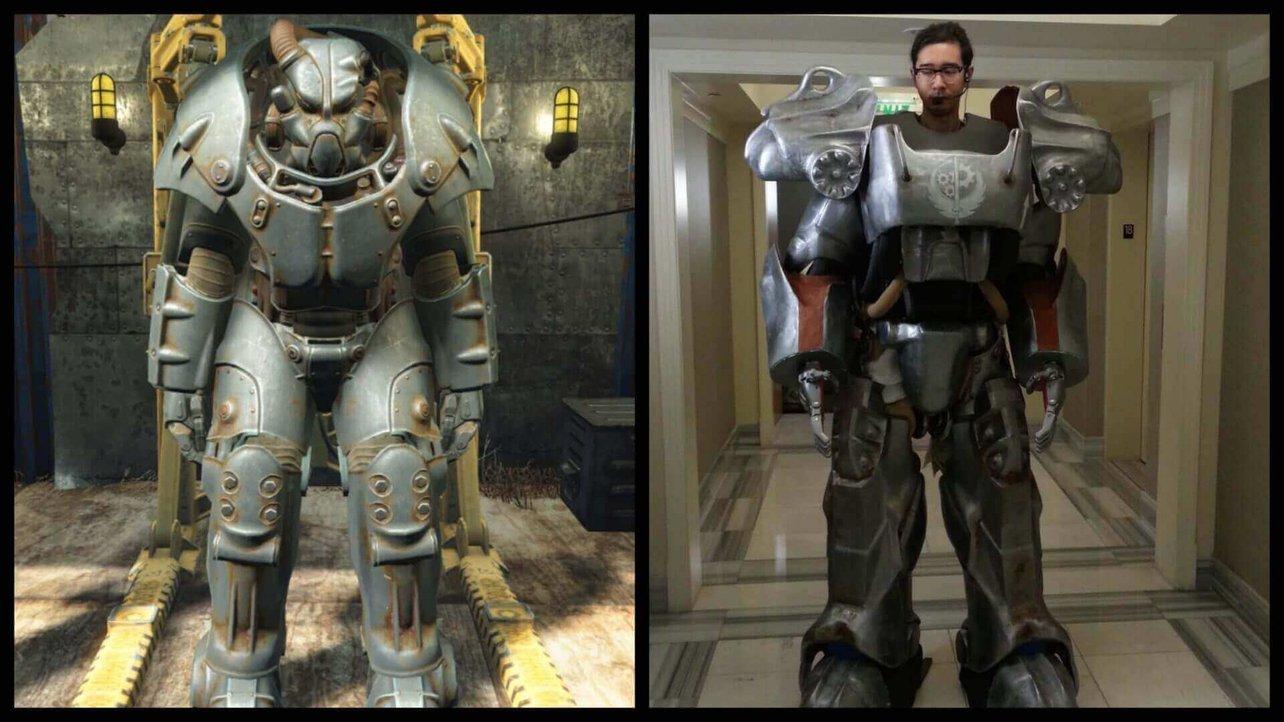Fan Fallouta, drukuje w 3D naturalnej wielkości Power Armor
